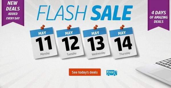 HP Flash Sale 连续4日闪购,电脑、电脑配件及背包等特卖