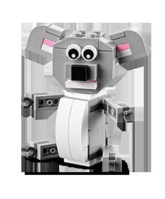 LEGO店内5月5日(明日)下午小朋友搭建并赠送mini树袋熊