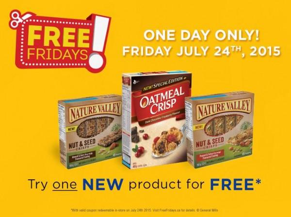 免费价值5.99元General Mills食品提货券