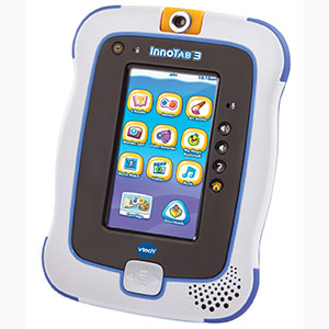 VTECH INNOTAB 3 PLUS INTERACTIVE TABLET WITH RECHARGEABLE BATTERY KIT (ENGLISH) - BLUE - DAMAGED BOX儿童平板电脑