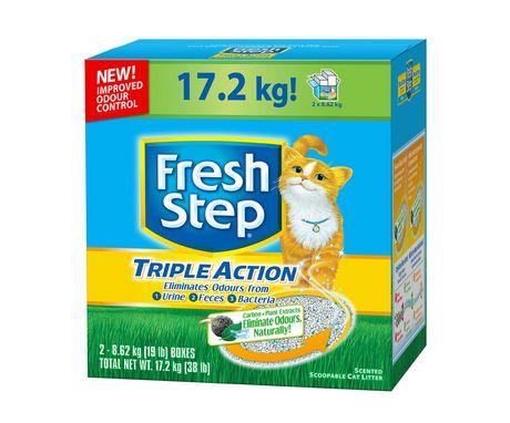 Fresh Step Triple Action Cat Litter - 17.2kg猫砂