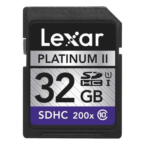 Lexar 32GB 200X 30MB/s SDHC Class 10 Memory Card储存卡