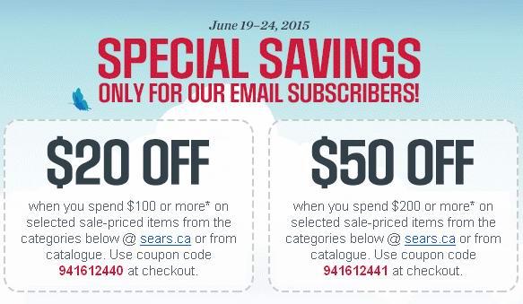 Sears网店父亲节特卖,满49元优惠10元,满99元优惠20元,满199元优惠50元!