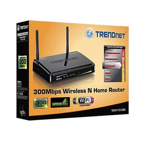 TRENDnet 300Mbps Wireless N300 Home Router家用无线路由器