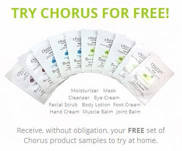 Chorus Supernaturals免费寄送10款皮肤护理试用品