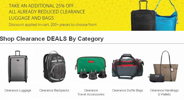Best Buy 364款清仓区行李箱、背包、挎包、手袋、插头转换器等额外7.5折