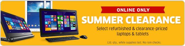 The Source上百款翻新及展示笔记本、平板电脑、显示器、打印机等清仓大减价!