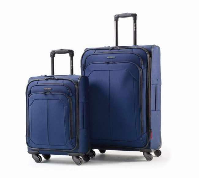 Samsonite® 2pc Spinner Luggage Set 新秀丽行李箱套装2.5折特卖,两色可选,另有多款行李箱2.5折起特卖