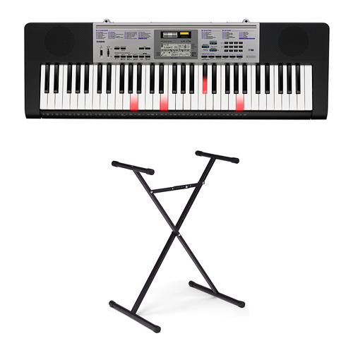 Casio 61-Key Keyboard With Stand (LK175ST)入门型电子琴,带琴架