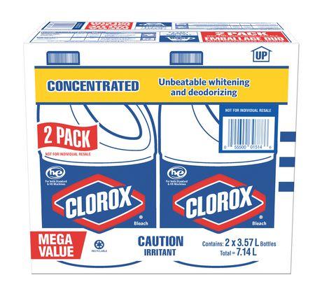Clorox Liquid Bleach 3.57L x 2 Pack 漂白液