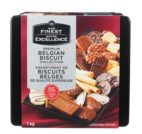 Our Finest Premium Belgian Biscuit Collection