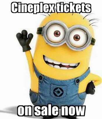 Cineplex返校季特卖,8月31日-9月4日期间电影全部按周二折扣价特卖!