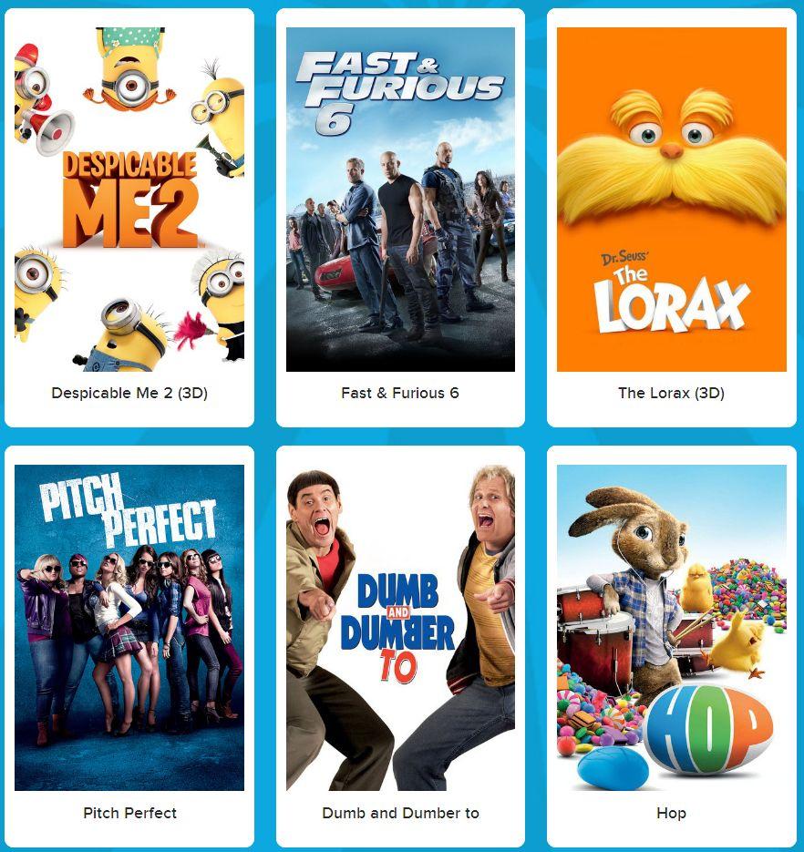 Cineplex Community Day10月24日免费电影,共6部影片,含2部3D电影