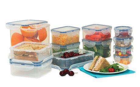 Lock & Lock 24 Piece Food Storage Set食物保鲜盒套装半价清仓