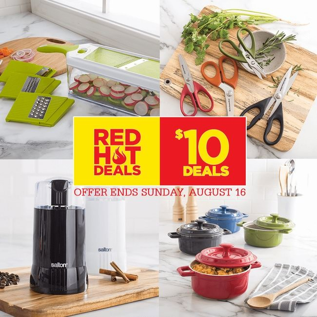 Kitchen Stuff Plus精选20款厨房及家居用品10元特卖,8月16日截止