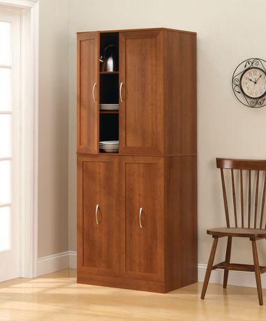Dorel 4 Door Storage Pantry厨房储藏柜