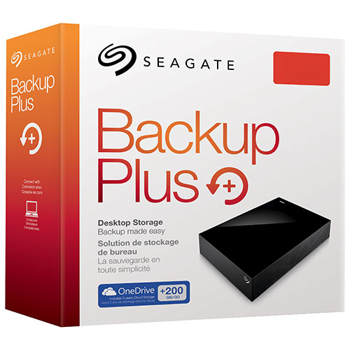 "Seagate Backup Plus 8TB 3.5"" 5900RPM USB 3.0 External Hard Drive (STDT8000100) 8TB移动硬盘"