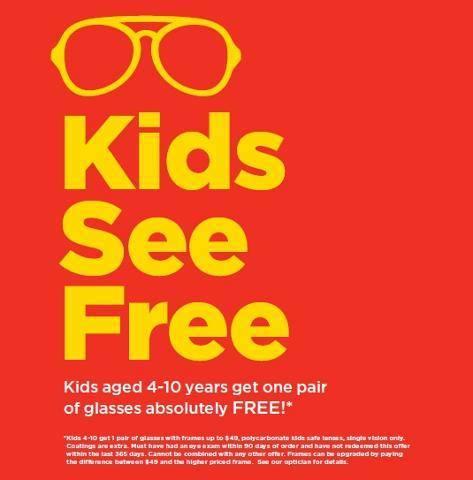 Loblaws Optical眼镜部免费向4-10岁儿童赠送眼镜,9月26日前有效!