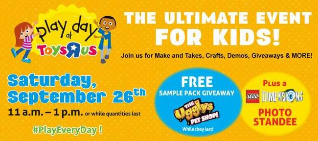 Toys R Us 本周六(9月26日)免费游乐日,店内多项免费活动供你孩子玩,早去有礼送!