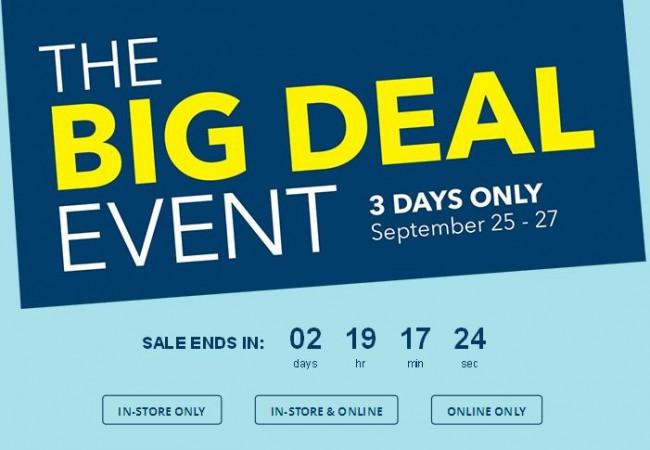 Best Buy Big Deal Event 三日大特卖!家具3折,行李箱2.5折,厨具2折,首饰4折,还有更多店内特价