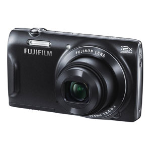 开箱品FUJIFILM FINEPIX T500 DIGITAL CAMERA WITH 12X ZOOM LENS – BLACK - OPEN BOX数码相机