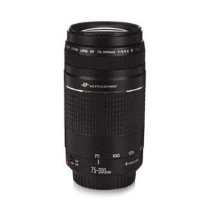 CANON EF 75-300MM F4-5.6 III U.S.M. LENS - DAMAGED BOX 佳能单反相机镜头,包装损坏