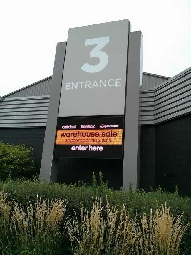 最后一天!Adidas Reebok Taylormade Warehouse Sale特卖会,各种服饰鞋子等清仓销售!仅限9月11日-13日!