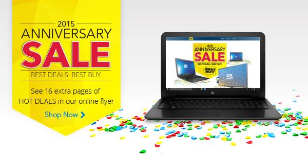 Best Buy 2015年度特卖,笔记本电脑、电视、家电、家具、婴儿用品等特价销售