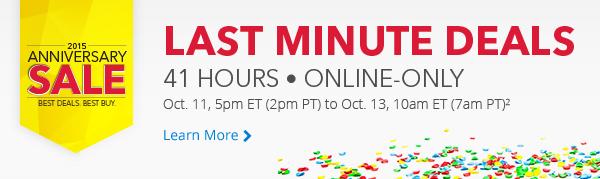 开卖了!Best Buy 2015年度特卖41小时海量商品限时抢购,10月11日本周日下午5时开卖!