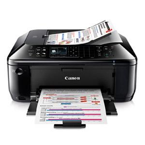 开箱品CANON PIXMA MX512 OFFICE ALL-IN-ONE INKJET PRINTER多功能无线喷墨打印机