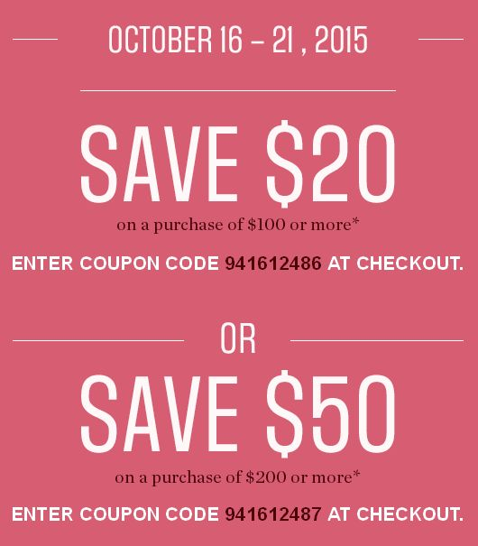 Sears 3千余款商品2.5折起特价销售,满24元立减10元,满99元立减20元,满200元立减50元!10月21日截止!