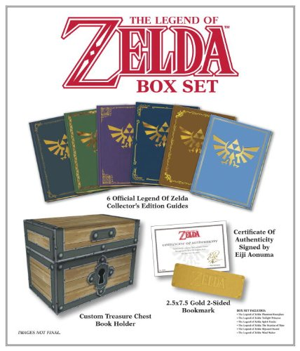 The Legend of Zelda Box Set: Prima Official Game Guide 任天堂塞尔达传说系列官方珍藏攻略2.5折清仓!