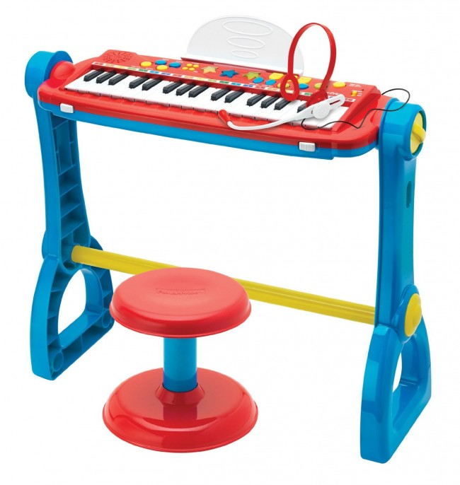 Fisher-Price Play-slong Keyboard and Drum set弹琴击鼓二合一