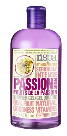 NSPA Fruit Extracts Passion Shower Gel 500ml 水果沐浴露