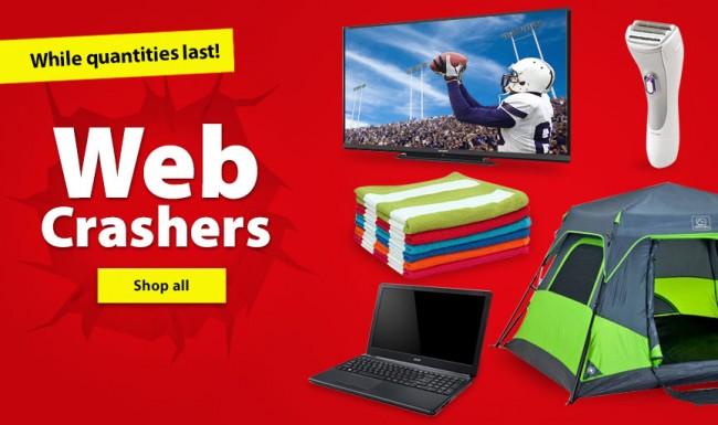 Walmart Web Crasher数十款商品特价销售,上千商品清仓
