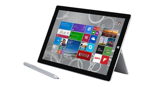 翻新Surface Pro 3 64GB/128GB平板电脑683.1元起