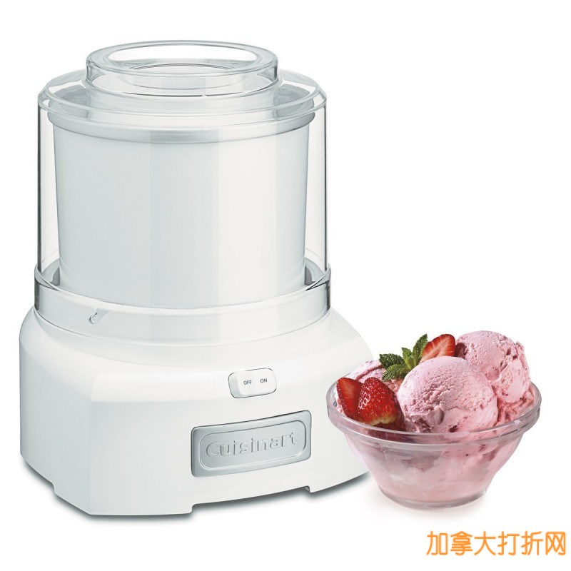 Cuisinart ICE-21C 小巧家用冰淇淋豆浆机特价52.99元,原价83.99元,包邮