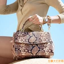 MICHAEL KORS Ava Medium Embossed-Leather Satchel 蛇皮纹女包特卖187.95元,原价358元,包邮