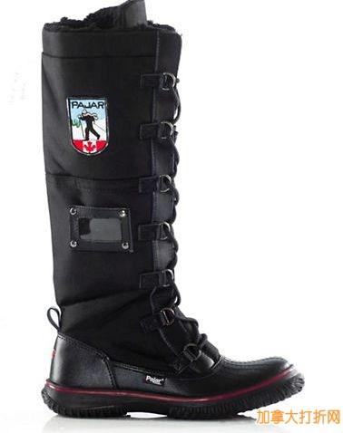 The Bay 网购星期一!PAJAR Grip Zip Tall Snow Boots雪地靴特卖179元,原价240元,包邮