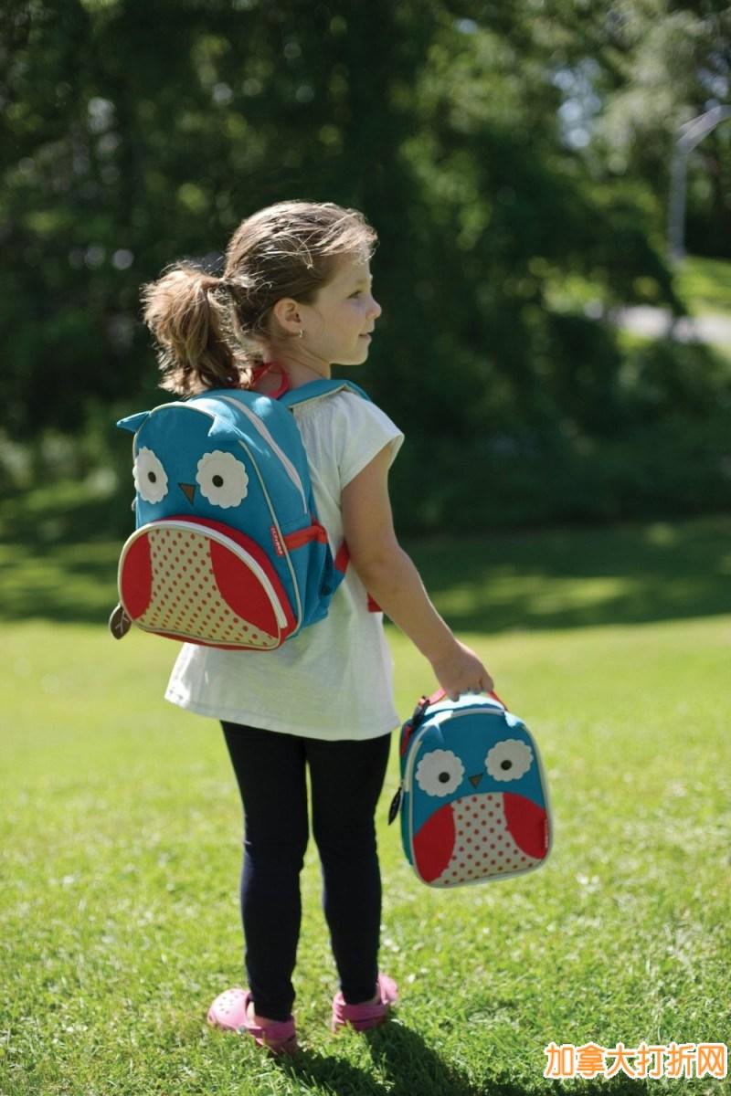 Skip Hop 超可爱动物图案小背包仅17.5元,多种图案和颜色可选哦!