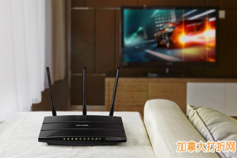 TP-Link AC1750 双频 1750Mbps 无线路由器4.7折 69.99加元包邮!