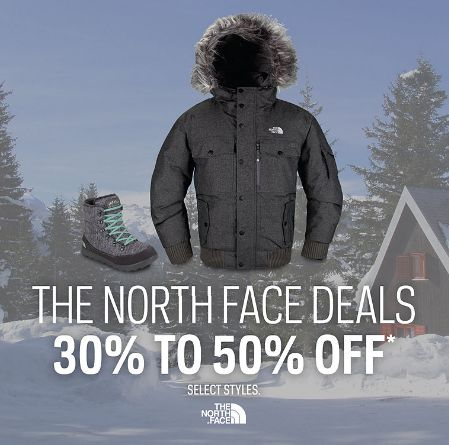 Sport Chek限时特卖!指定款The North Face服饰、鞋子5-7折,额外再打9折!