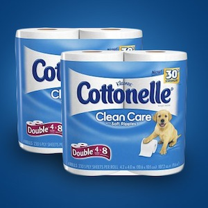 Walmart 多款Cottonelle超软卫生纸全部半价特卖!