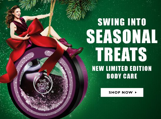 The Body Shop 美体小铺 买三送三,满60元立减10元并包邮!