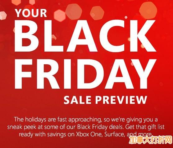 11月26日跳水大特卖!Microsoft Store 黑色星期五特卖折扣预览出炉!笔记本电脑5.7折!还有多款游戏机、游戏、平板电脑、手机、耳机、智能手环特价销售
