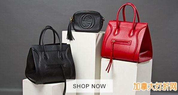 多款Celine、Balenciaga、Gucci、Prada等品牌手袋3.4折起限时特卖