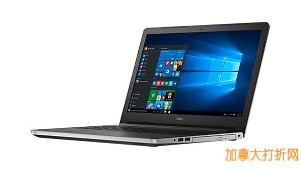 Dell Inspiron 15 i5558-5718SLV 戴尔15寸签名版触摸屏笔记本电脑5.7折特卖,仅售599元!
