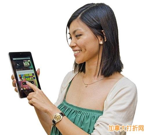 简约时尚又轻巧!华硕Google Nexus 7 16GB平板电脑7.2折仅售179元包邮!
