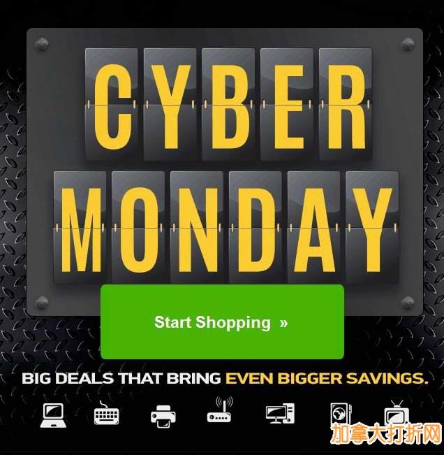 TigerDirect网购星期一开卖!电视、平板电脑、笔记本电脑、台式机、显示器、硬盘、行李箱等特价销售!