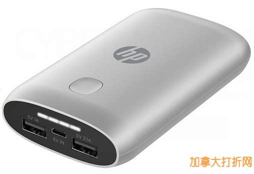49.99元HP 7600mAh充电宝仅售14.99元,39.99元蓝牙鼠标仅售14.99元,还有更多电脑配件及背包打折!